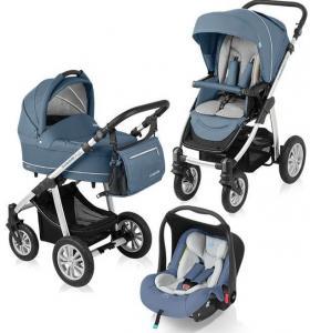 Carucior copii 3 in 1 Lupo Comfort cu Leo Baby Design