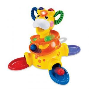 Centru activitati Go Baby Go! Sit-to-Stand Giraffe Fisher-Price