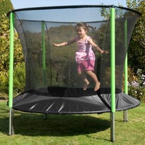 Trambulina copii 6ft SurroundSafe Big Bouncer - TP Toys