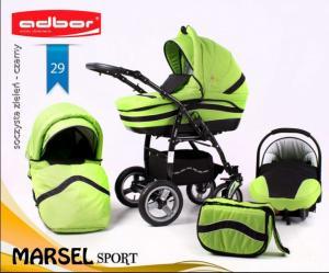 Carucior 3 in 1 Adbor Marsel Sport
