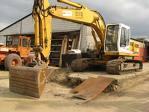 Excavator liebherr de inchiriat