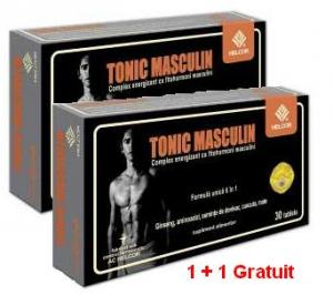 Tonic Masculin 30comprimate 1+1 Gratis
