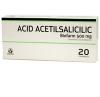 Acid acetilsalicilic 20 comprimate