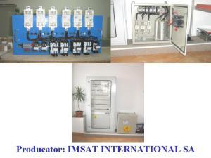 Echipamente de producere energie electrica