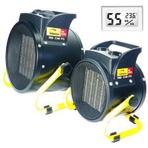 Pachet aeroterme ceramica Intensiv PRO 2kW PTC + Intensiv Pro 3 kW PTC + CADOU Termometru digital cu higrometru