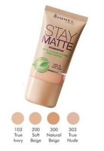 Rimmel Stay Matte Foundation TESTER