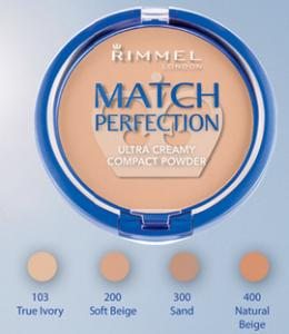 Rimmel Match Perfection pudra compacta