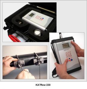 Debitmetru ultrasonic clamp-on, portabil, KatFlow 230