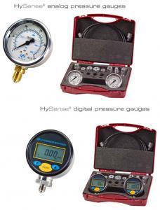 Manometre portabile si truse pentru masurare circuite hidraulice