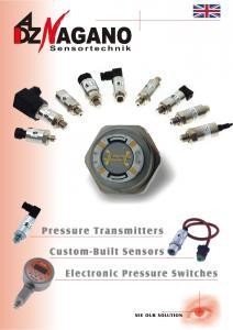 Senzor de presiune SKL/SKE