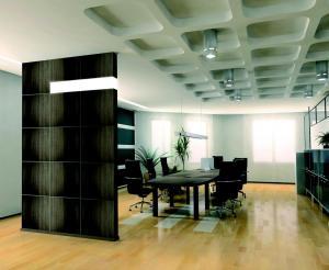 Perete Luxury wall cu doua posibilitati decorative