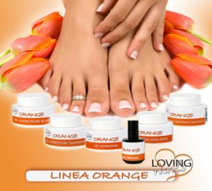 LINIA GELURI UV ORANGE