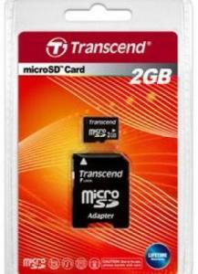 Microsd 2 gb transcend
