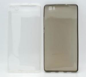 Husa silicon ultraslim Huawei P8 Lite ( folie inclusa )