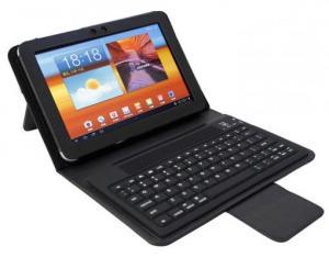 Husa cu tastatura bluetooth Samsung Galaxy Tab P6800
