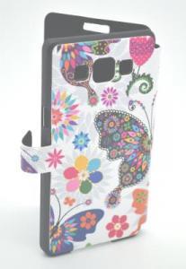 Book case Samsung Galaxy A5 Fluture ( folie inclusa )