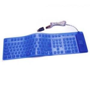 Tastatura flexibila silicon usb ps/2