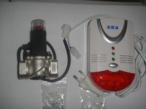 Detector gaz cu electrovalva
