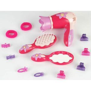 Trusa ingrijire par cu uscator -Barbie