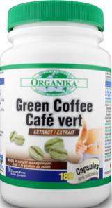 GREEN COFFEE  180 capsule