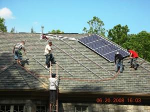 Centrala solara fotovoltaica