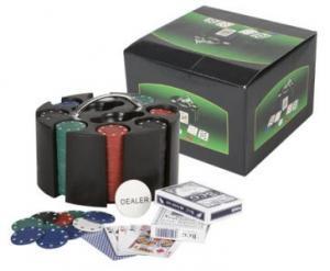 Set poker pe suport