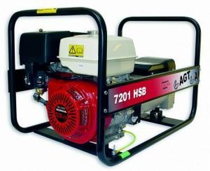 Generator cu pornire electrica AGT 7501 HSBE