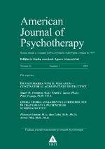 American Journal of Psychotherapy. Nr. 1/2008