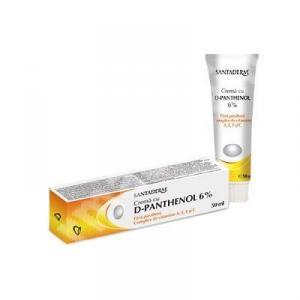 Crema Panthenol Forte 6% Santaderm - 50 ml