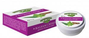 Balsam tonic crema pentru masaj frunte si ceafa cu eucalipt, menta si scortisoara - 15 g