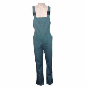 Pantalon salopeta cu pieptar doc gri  [TEX PANPDG]