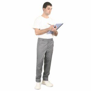 Pantalon lucru cu slit din tercot