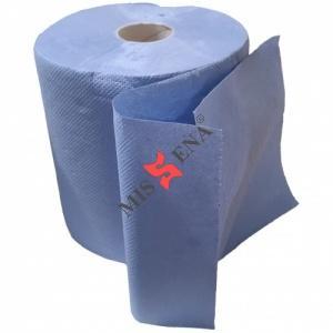 Rola prosop hartie 2 straturi celuloza bleu