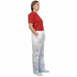 Pantaloni de lucru doc alb