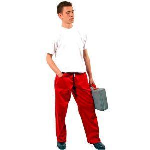 Pantaloni de lucru doc rosu
