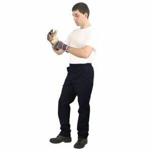 Pantaloni de lucru doc bleumarin