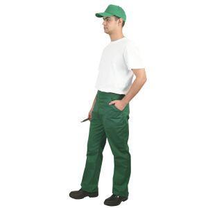 Pantaloni de lucru doc verde [TEX 3D03204]