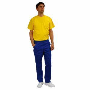 Pantaloni de lucru doc albastru