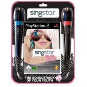 SingStar '80s cu 2 Microfoane PS2