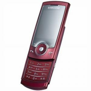 Samsung U600 - red