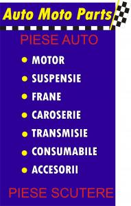 Piese auto si piese scutere