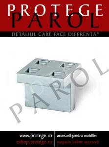 Buton vopsit aluminiu, S.1505-30PB21