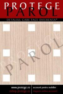 HDF Perforat LEGNO Anegre Quadro 11-45