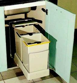 Cosuri de gunoi compartimentat