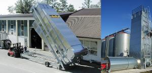 Uscatoare mobile Stela pentru cereale, model UNIVERSAL cu flux continuu – mixt