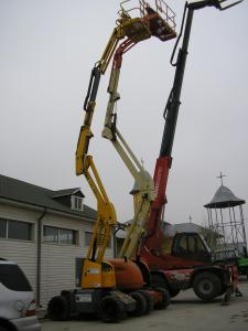 Brat telescopic jlg