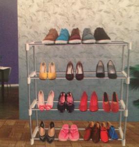 Suport-etajera pantofi Stainless steel tube shoe racks