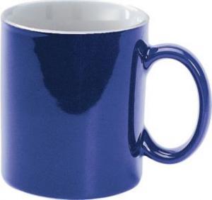 Cana  din ceramica albastra