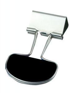 Clips metalic negru