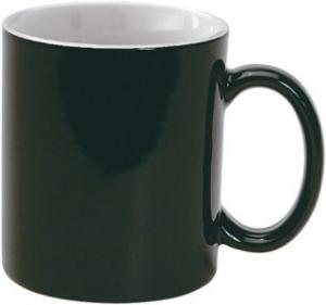 Cana din ceramica neagra